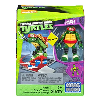 Mega Construx Teenage Mutant Ninja Turtles Raph Skate Training Pack: Toys & Games