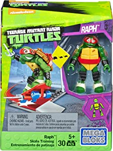Mega Construx Teenage Mutant Ninja Turtles Raph Skate Training Pack
