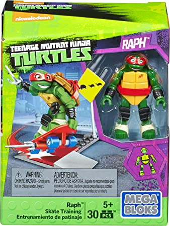 Amazon.com: Mega construx Teenage Mutant Ninja Turtles Raph ...