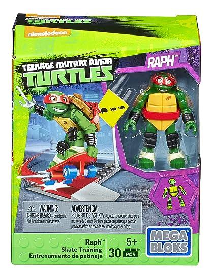 Mega Construx Teenage Mutant Ninja Turtles Raph Skate Training Pack
