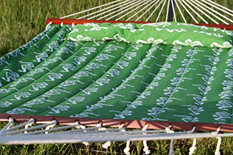 outdoor pillow top hammock  stand sold separately  amazon     outdoor pillow top hammock  stand sold separately      rh   amazon