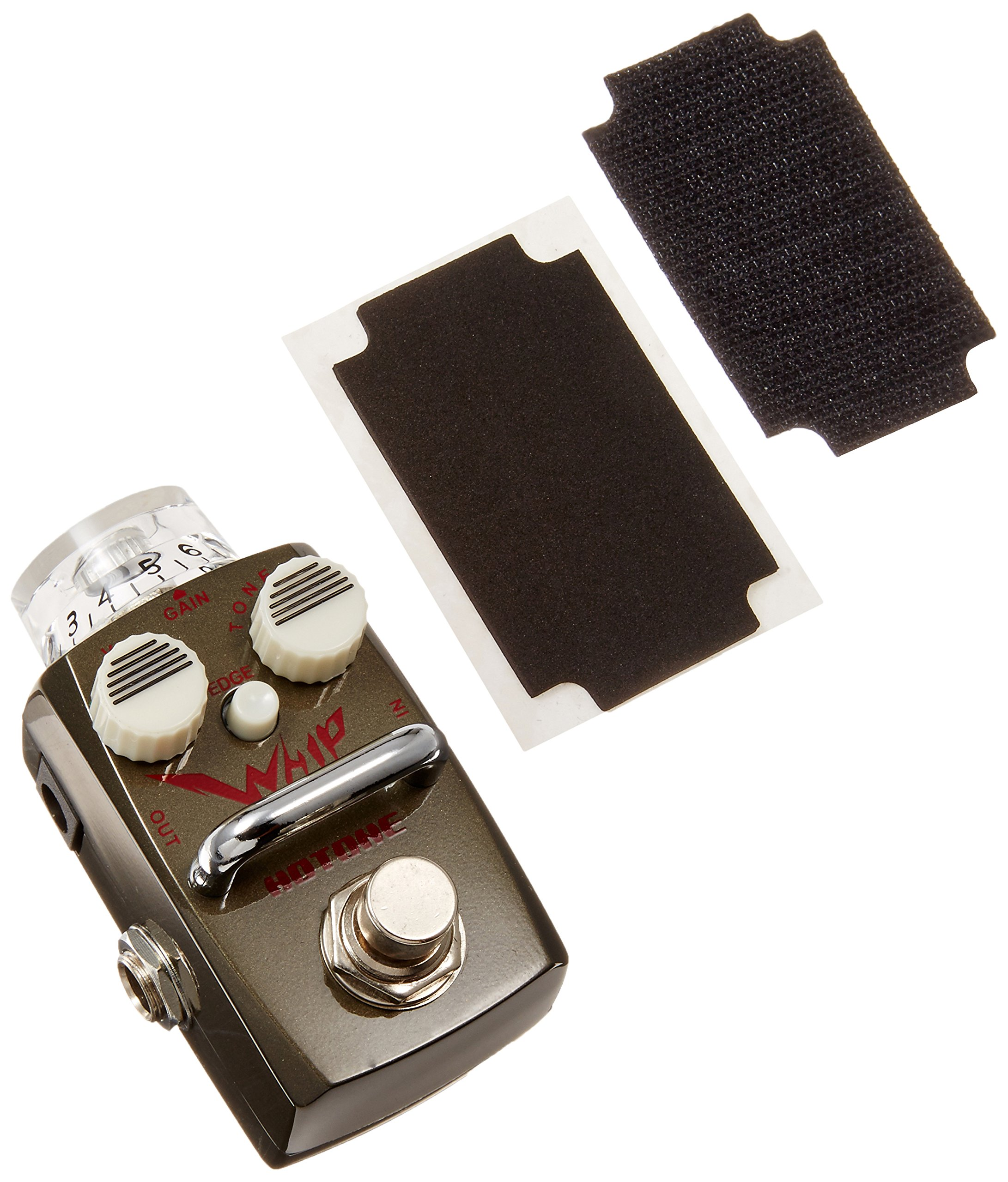 Hotone Skyline Series WHIP Compact Metal Distortion Guitar Effects Pedal