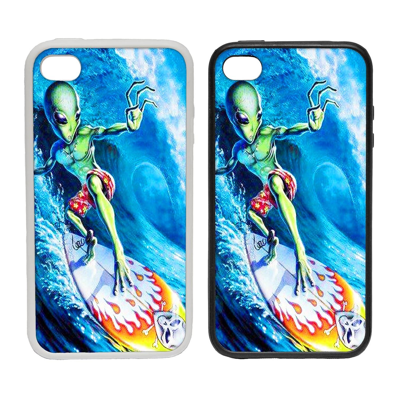 WTF |alien Surfboard| à clipser téléphone Coque) |