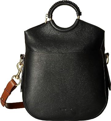 57ddeceb60 Amazon.com: See by Chloe Women's Monroe Large Bracelet Tote Black ...