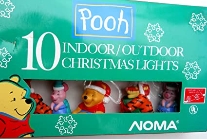 winnie the pooh 10 indooroutdoor christmas lights