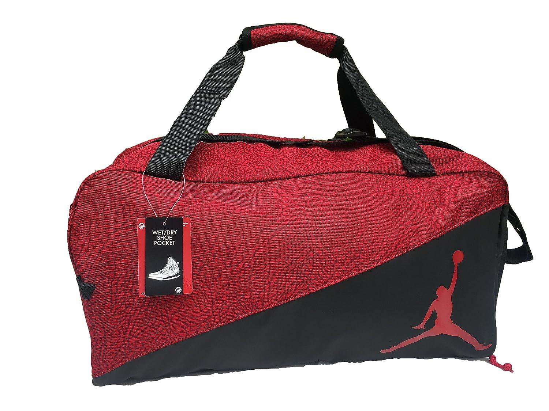new styles d1342 2ccca Amazon.com  Nike Jordan Jumpman Sports Elemental Duffel Bag  Sports    Outdoors