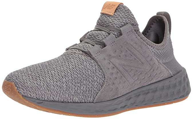 New Balance Men's Cruz V1 Fresh Foam Running Shoes, Castlerock/Phantom 7 2E US