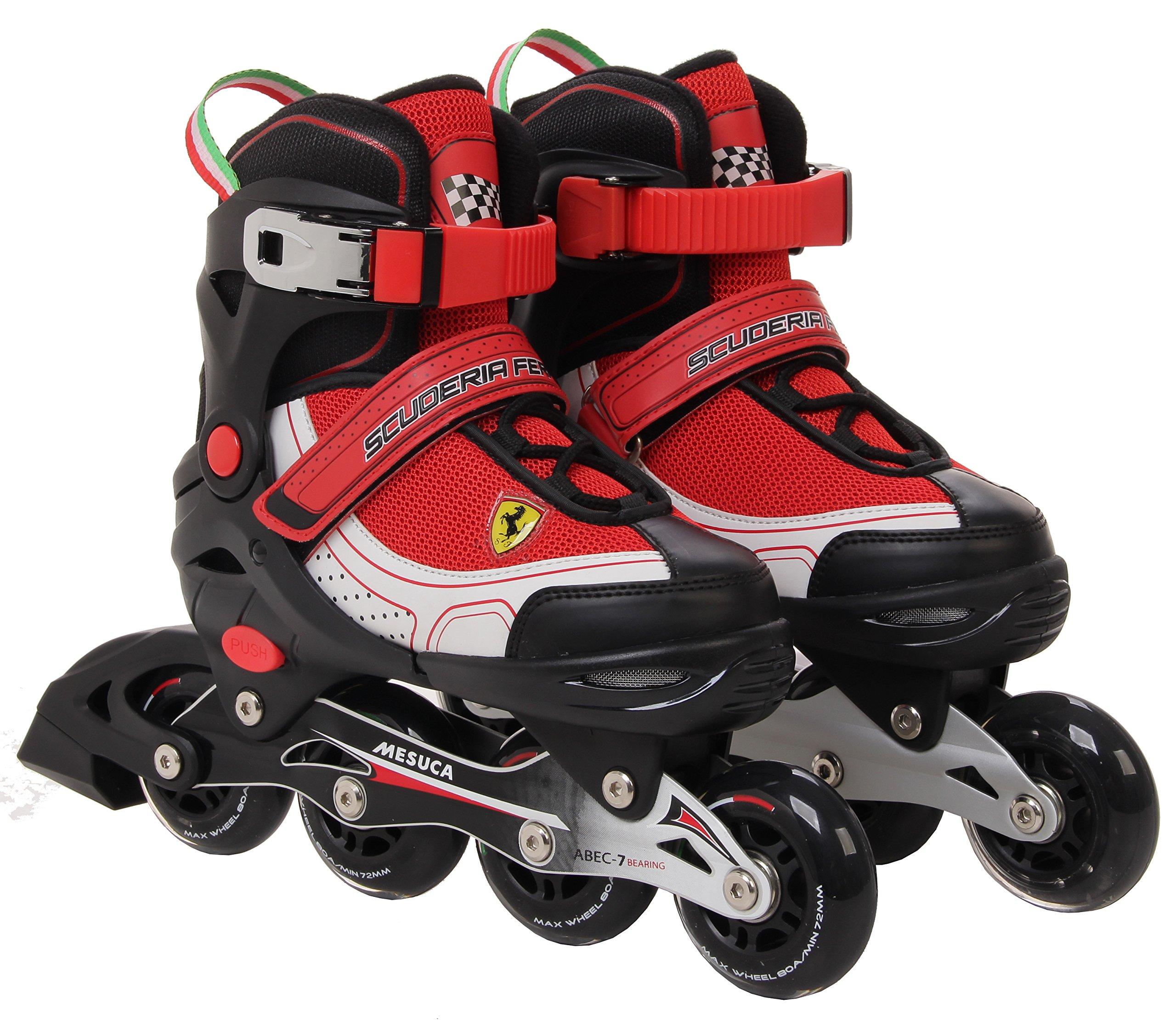 Ferrari Inline Skate, Black/Red, Size 34-37