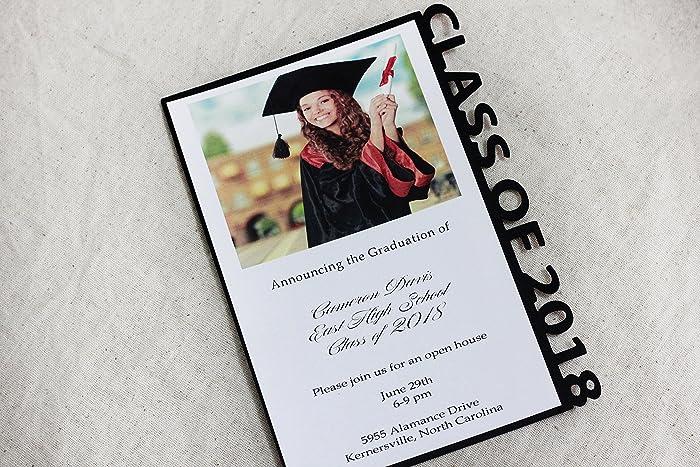 Amazon Graduation Announcements Invitations Graduate Invite