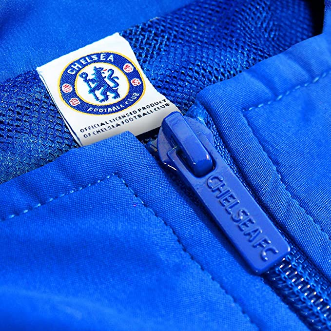 c4f3c6232 Chelsea Football Club Official Soccer Gift Mens Jacket   Pants Tracksuit  Set at Amazon Men s Clothing store