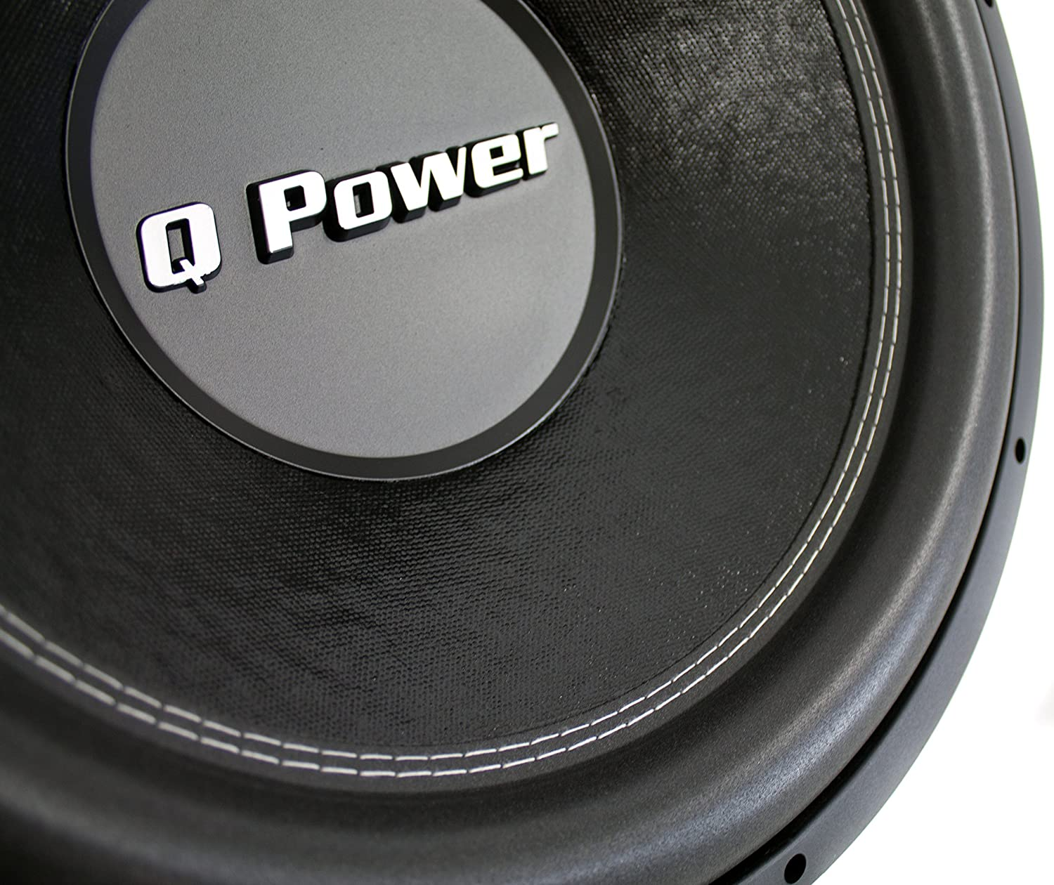 Q Power Qpf15 15 2200w Deluxe Series Dual Voice Coil Wiring Diagram Subwoofer Wire Svc 2 Ohm Car Audio Electronics