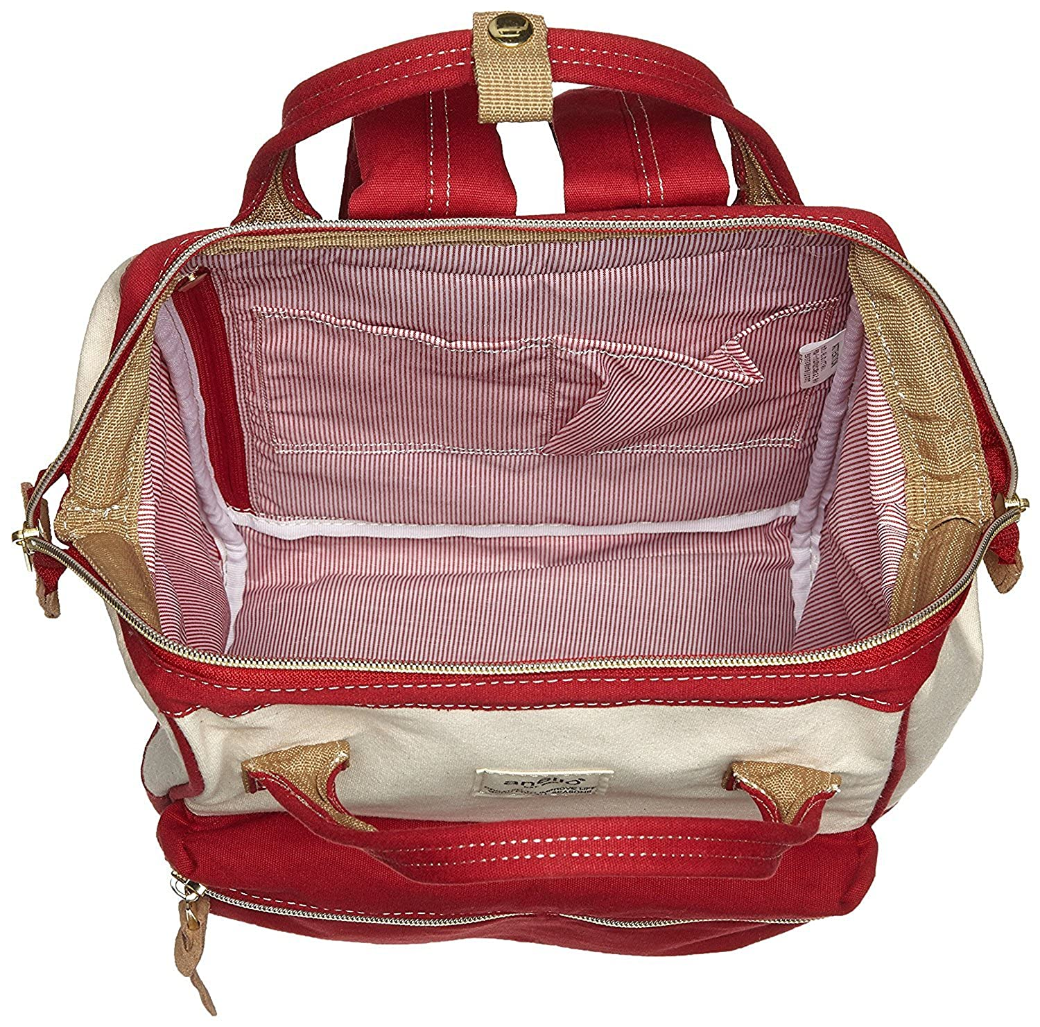 Smal Size Anello Polyester Canvas Backpacks Japan import
