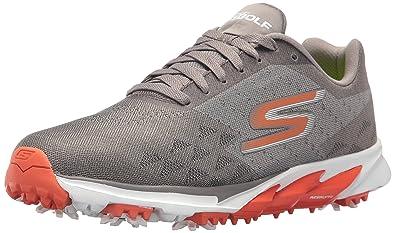Skechers Mens Go Golf Blade 2 Golf Shoe, Charcoal/Orange, ...