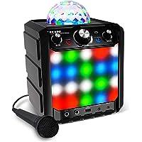 ION Audio Party Rocker Express - Altavoz Bluetooth 40W para Fiestas y Karaoke, con Micrófono y Centro de Karaoke con…