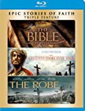 The Bible/The Greatest Story Ever Told/The Robe (Bilingual) [Blu-ray]