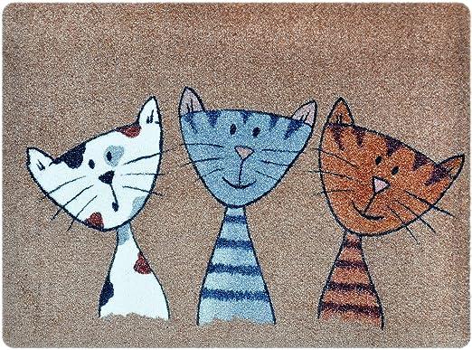 2 opinioni per Deco- Mat- Zerbino gatti, tappetino per ingressi da interno o da esterno,