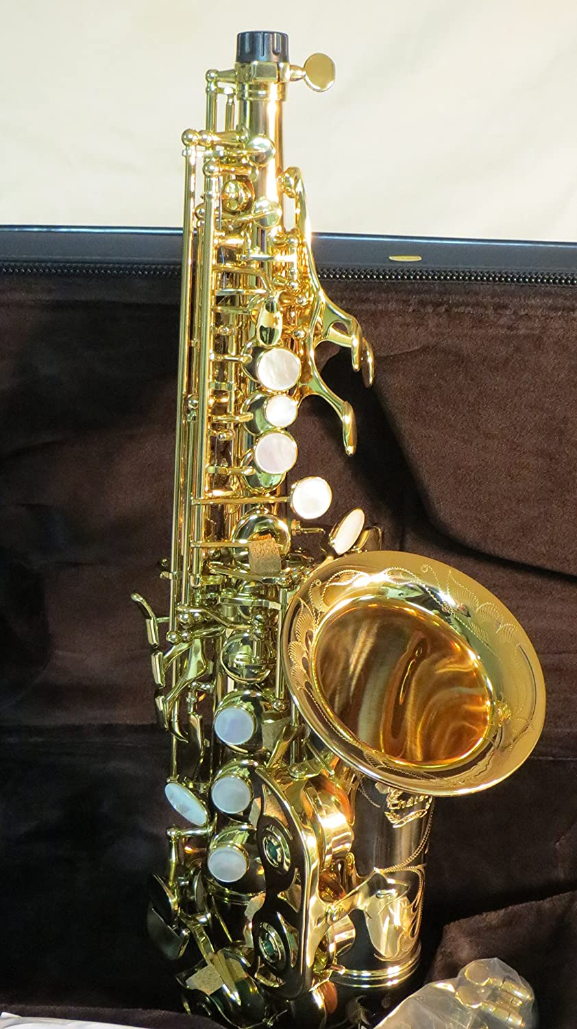 Singers day SDSC-2013 Gold Lacquer Soprano Curved Saxophone
