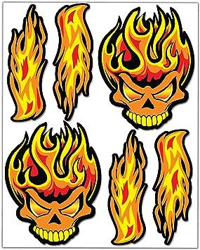 Feuer Flammen, Vektorset in einem flachen Stock-Vektorgrafik (Lizenzfrei)  429345274