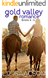 Gold Valley Romance Boxed Set, Books 4 - 6: Between the Reins, Over the Moon, Under the Bridge (Liz Isaacson Boxed Sets)