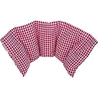 """""""Aktion: NATUR PUR"""" Kirschkernkissen von salosan: 5 Kammern Kissen, zur Wärme- / Kälte - / Entspannungs- / Wellness- und Massagetherapie bestens geeignet, in liebevoller Handarbeit aus natürlichenchen Rohstoffen hergestellt, Größe: 50 x 20 cm (rot groß)"""