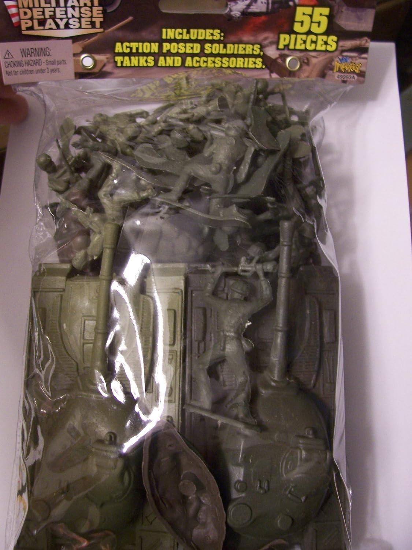 Military Ground Assualt Playset 55 Pieces
