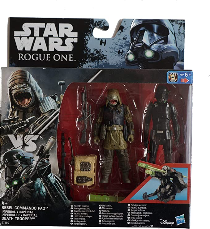 Play Set Star Wars 3.75 figuras Pack 2 – Rebel Commando Pao and ...
