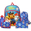 "FAB Nickelodeon Paw Patrol Boys 16"" Backpack Back to School Essentials Set"