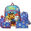 "FAB Nickelodeon Paw Patrol Boys 16"" Backpack Back to School Essentials Set"