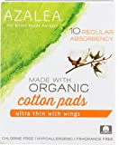 Azalea, Organic Cotton Pads, Regular, 10 ct