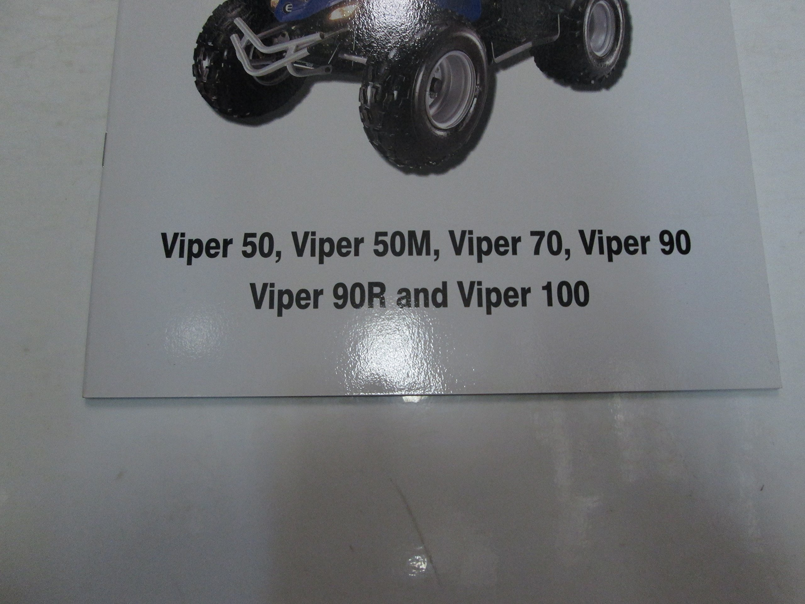 2005 E-Ton Viper 50 50M 70 90 90R 100 Owners Manual FACTORY OEM DEALERSHIP  ***: E-TON: Amazon.com: Books