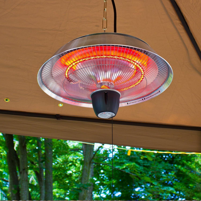 Amazon.com : Ener G+ HEA 21523 Ceiling Patio Heater : Portable Outdoor  Heating : Garden U0026 Outdoor