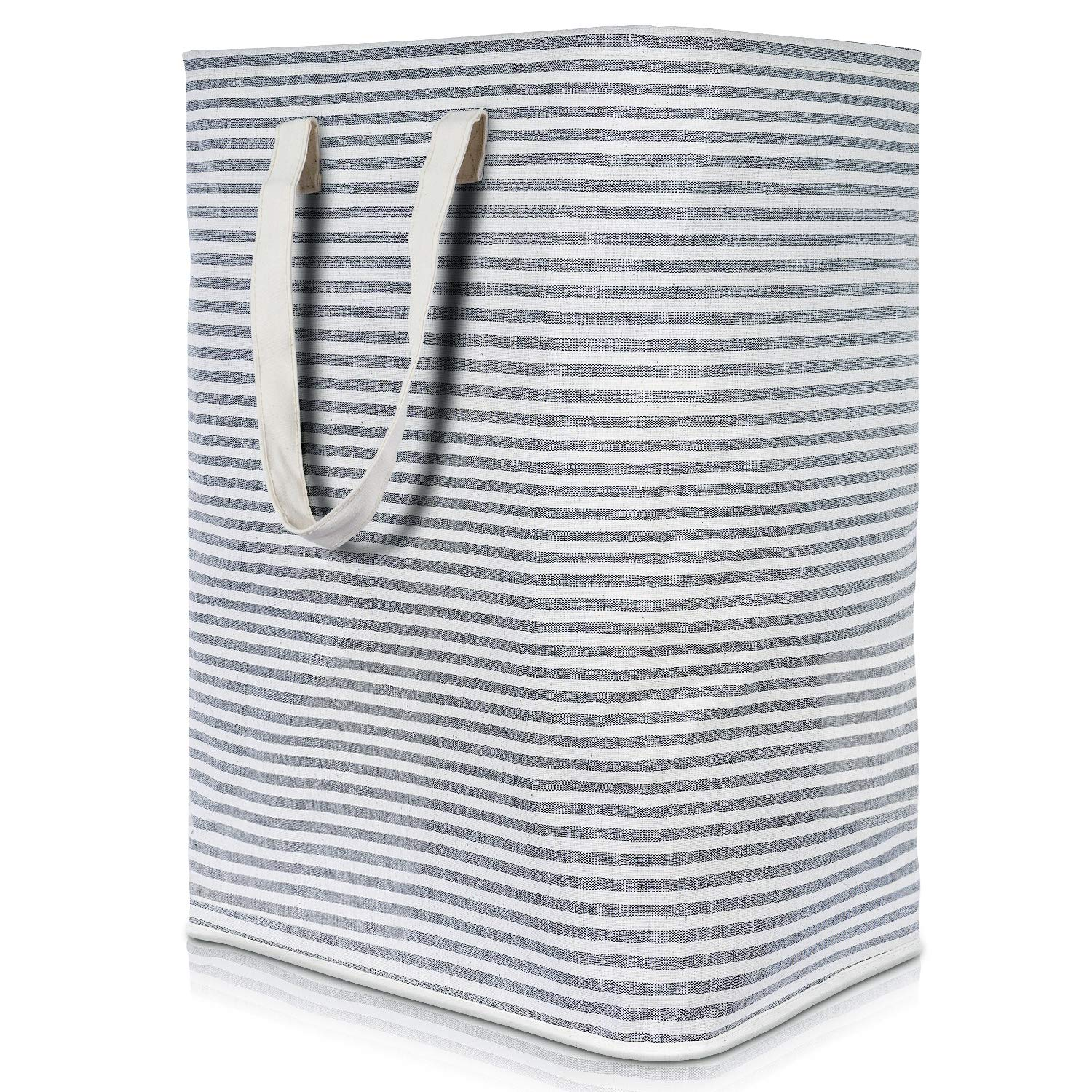 """Lifewit 23.6"""" Laundry Hamper Clothes Hamper Large Basket with Extended Handles for Storage Clothes Toys in Bedroom, Bathroom, Foldable, Grey"""