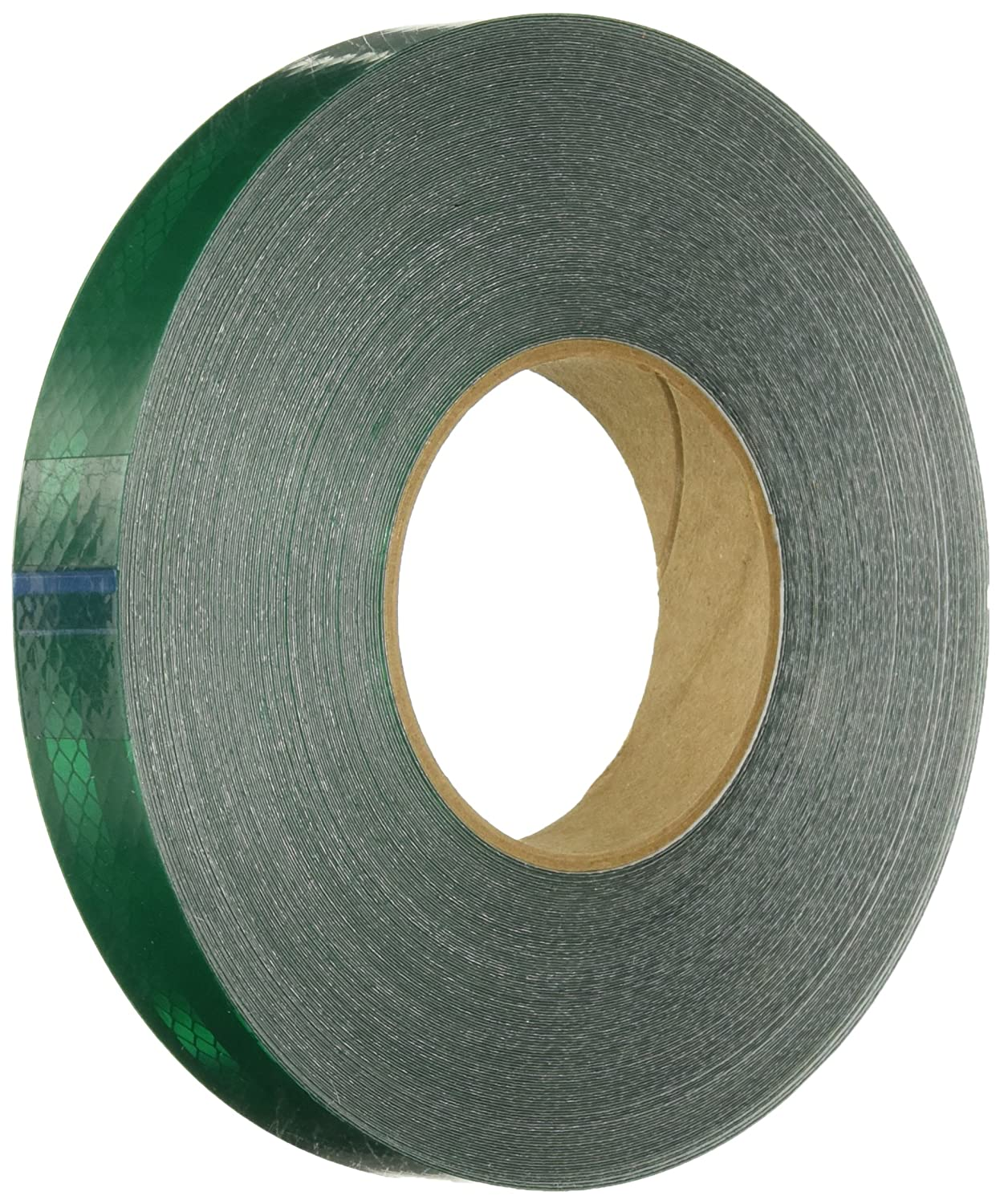 "3M 3437 Green Micro Prismatic Sheeting Reflective Tape, 1"" x 5 yd (1 Roll)"
