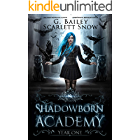 Shadowborn Academy: Year One (Dark Fae Academy Series Book 1) book cover