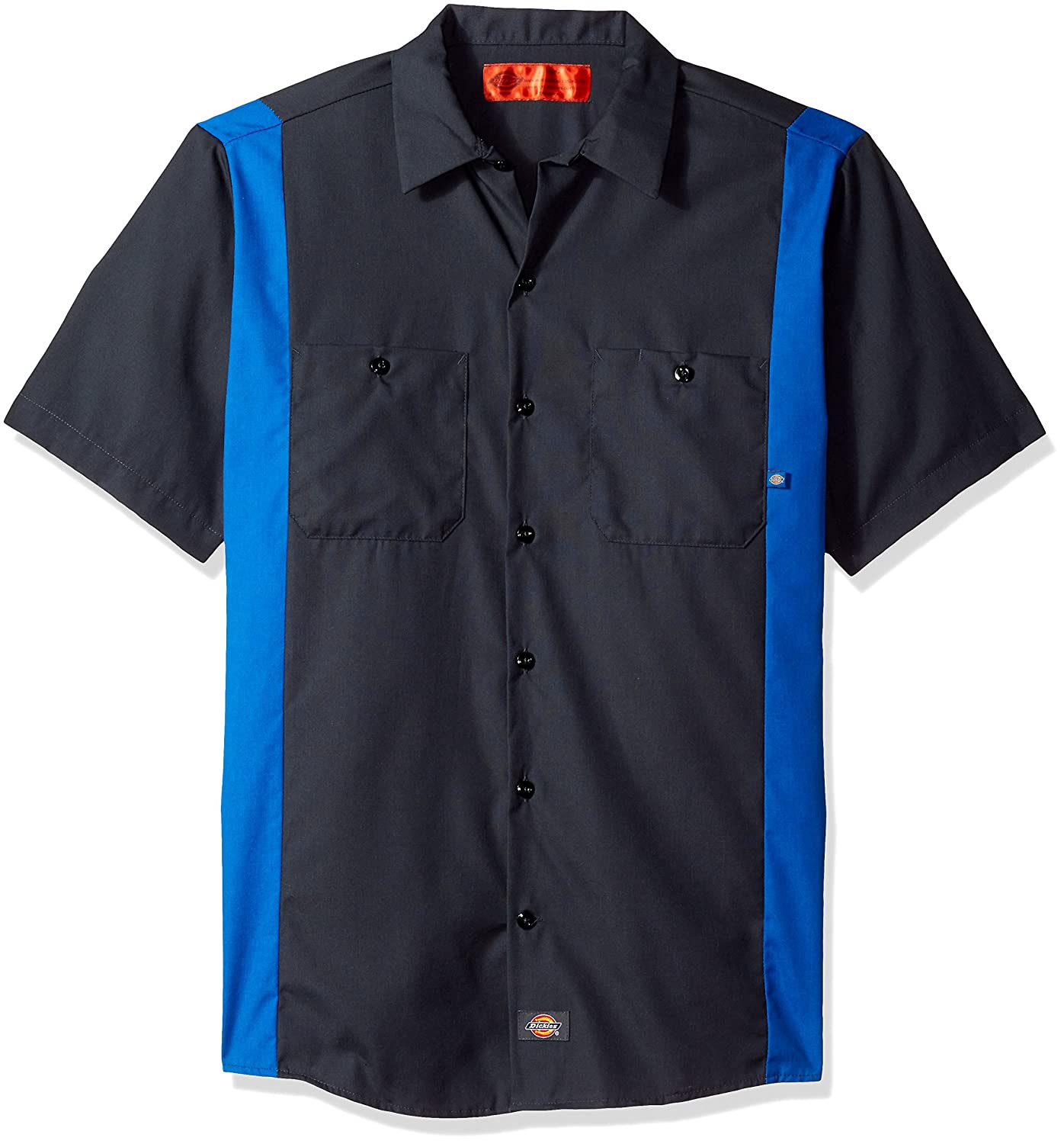 Dickies Mens Industrial Color Block Short Sleeve Shirt DIC-LS524