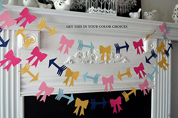 Amazon Bows Or Arrows Gender Reveal Baby Shower Decorations