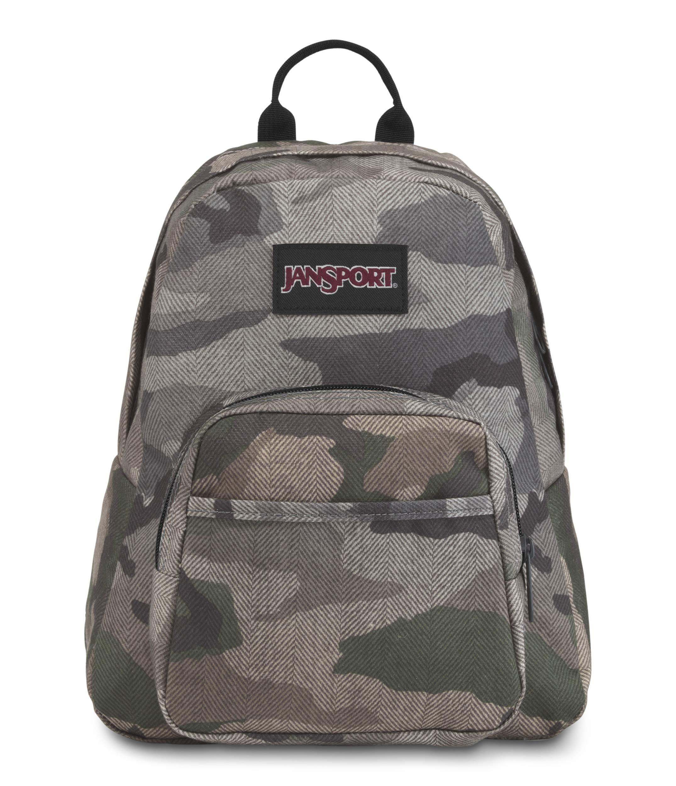 JanSport Half Pint FX Mini Backpack (Camo Ombre)