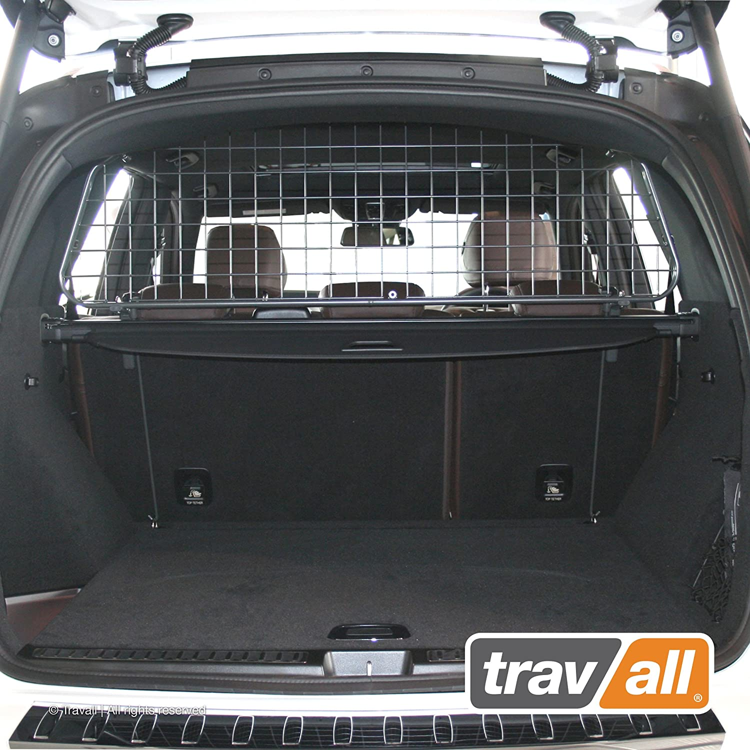 Travall Guard Compatible with Mercedes-Benz GLE-Class and 63 AMG 2015-2019 M-Class 2011-2015 TDG1369 – Rattle-Free Steel Pet Barrier