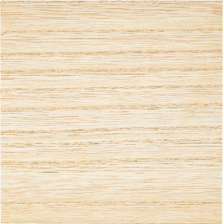5 x 5 pulgadas, cuadrados, color natural, 4 unidades Bloques de madera MDF sin terminar para manualidades
