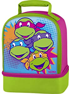 Thermos Dual Compartment Lunch Kit, Teenage Mutant Ninja Turtles