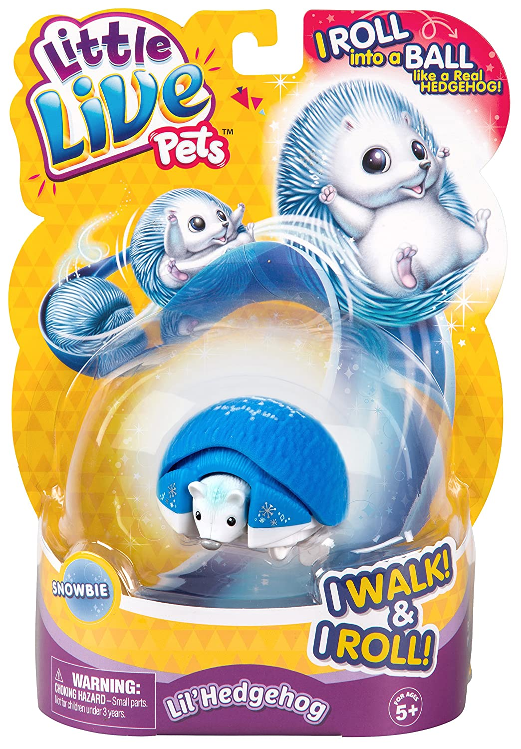Little Live Pets Hedgehog Pack Snowbie