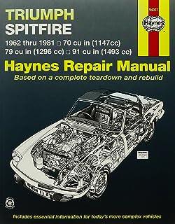 Triumph Spitfire 6281 (Haynes Repair ...