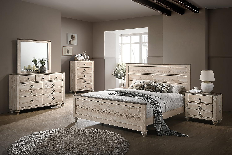 Amazon.com: Roundhill Furniture B132QDMNC 5-Piece Imerland ...