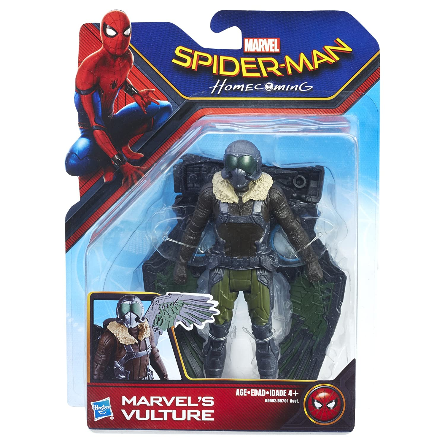 6-inch Hasbro B9701 Marvel Spider-Man Homecoming Vulture Figure