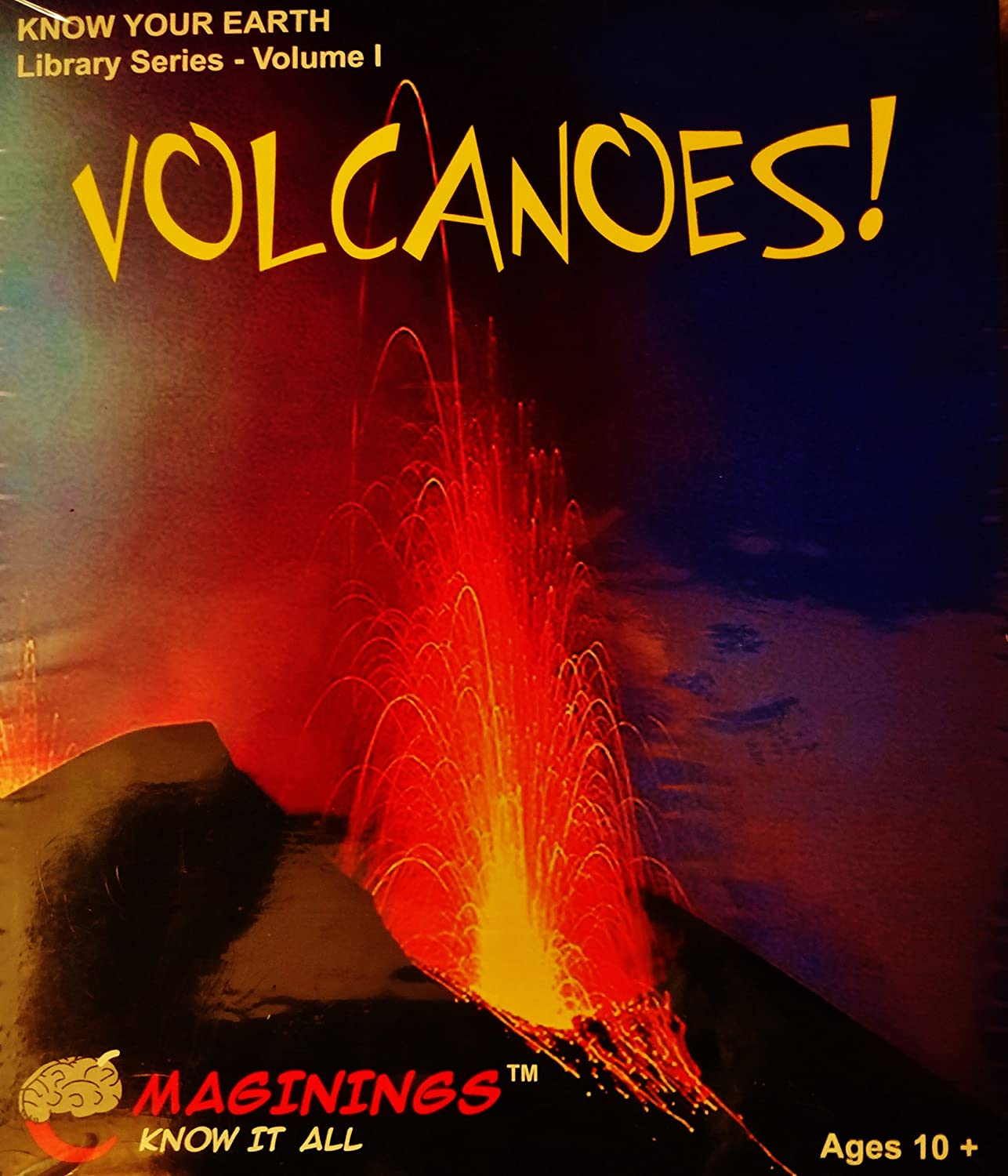 Volcanos! Know Your Earth Library Series Volume 1 (輸入版) B000FKGFZE Parent