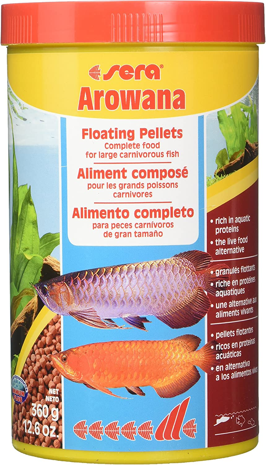 Sera 400 Arowana 12.6 oz 1.000 ml Pet Food, One Size