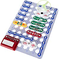 Hey Play Kids Circuit Board Building Kit-Electronic Stem Toy with Snap Wire Configurations, Buzzer, More for Learning Science, Engineering