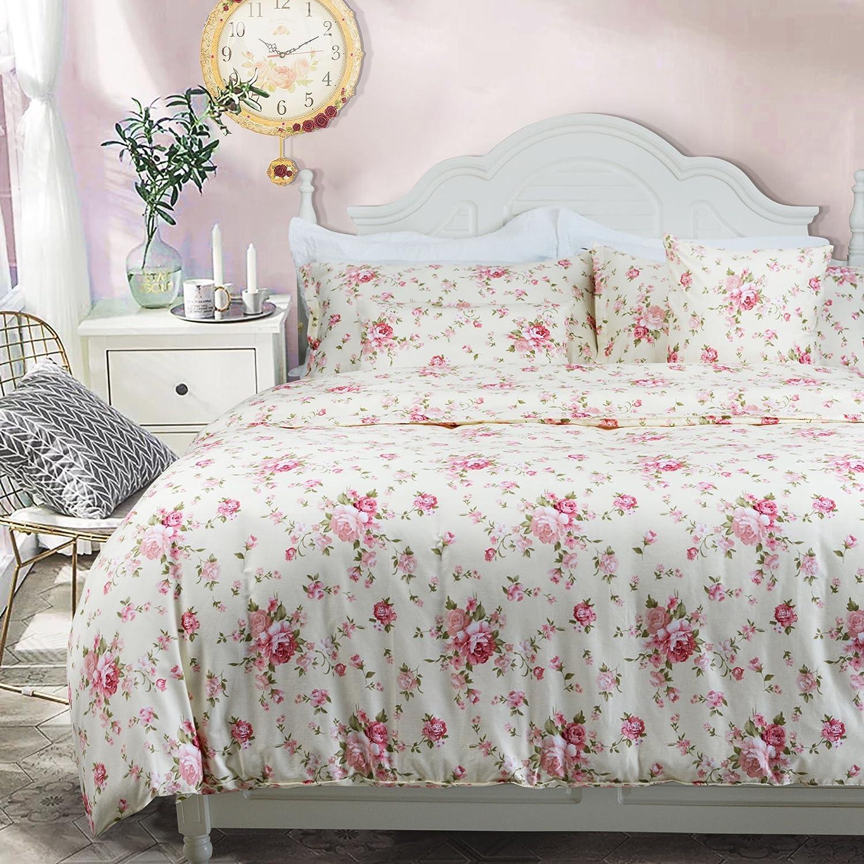 Amazon Com Brandream Girls Floral Bedding Farmhouse Style Bedroom