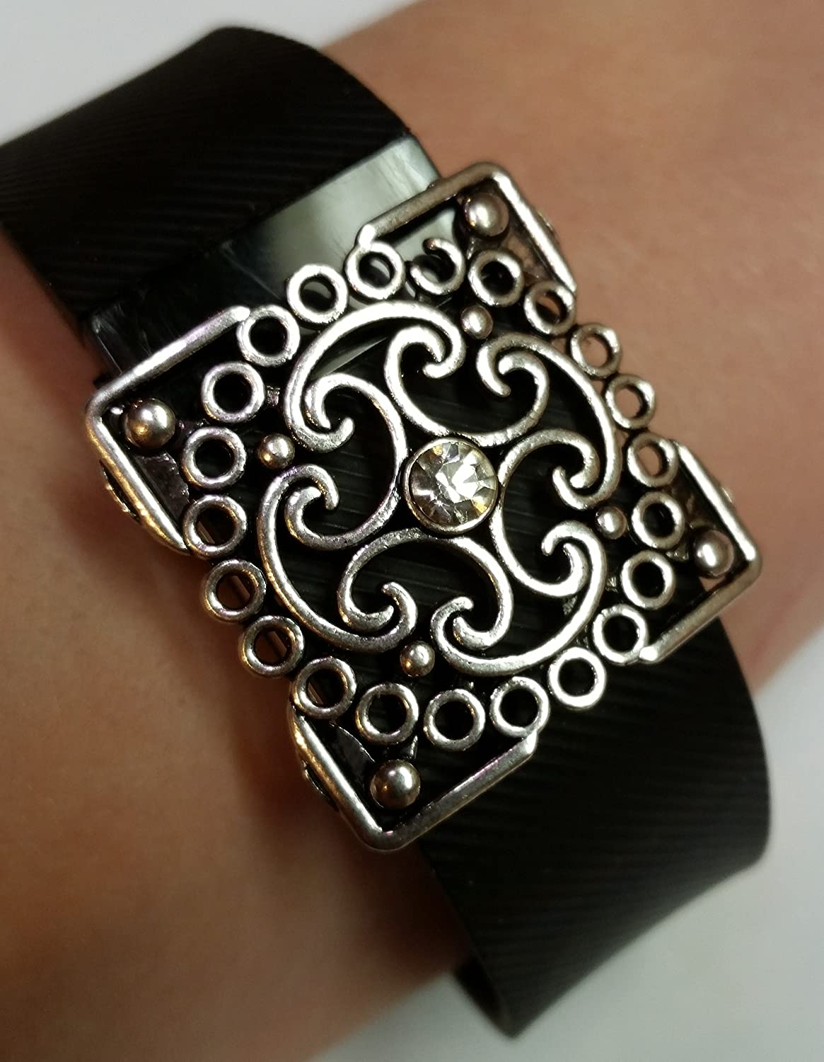 Stepbling Compatible with Fitbit Bling Accessory Faith