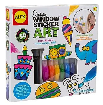 Alex Toys Craft Super Window Sticker Art Amazoncouk Toys Games - Window stickers amazon uk